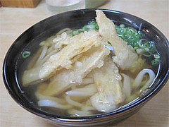 料理:ごぼう(ごぼ天)うどん400円@うどん平(たいら)・博多駅前