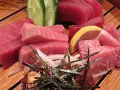料理:天然本マグロの刺身盛り合わせアップ@大衆居酒屋・気晴れ屋