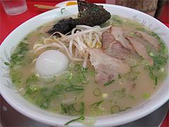 料理:コラーメン750円@王龍ラーメン・福岡市中央区赤坂
