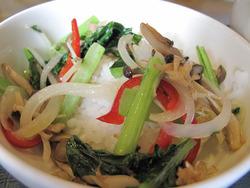 10リゾット風野菜ご飯@ウエスト中華麺飯