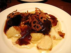 夜:イベリコ豚ほほ肉の赤ワイン煮込み@イタリアン・トラットリア・ ウーノ(Trattoria-Uno)