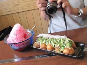 10デザート付たこ焼ランチ600円@味鉄