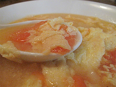 8ランチ:完熟トマトと卵のスープ@チャイナダイニング劉(りゅう)・中華・薬院