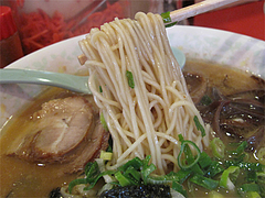 料理:ラーメン麺@まめたぬき・大楠