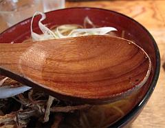 ランチ:魚男ラーメンスープ@博多炉端・魚男(フィッシュマン)・今泉・天神