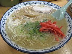 料理:ラーメン500円@赤のれん節ちゃんラーメン住吉店