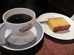 料理:コーヒー450円・ケーキ?円@夢空間はしまや・カフェ・倉敷