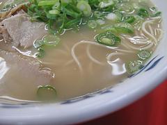 料理:ラーメン・ナシカタスープ@元祖ラーメン長浜家・港