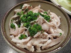 料理:小鉢の鶏皮@天下の焼鳥・信秀本店