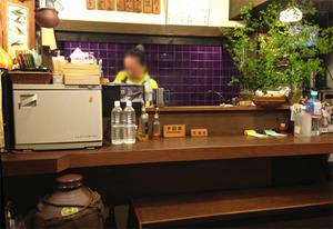 2カウンター席@沖縄料理しむ