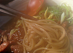 料理:かしわ蕎麦のそば@三ケ森蕎麦・舞鶴