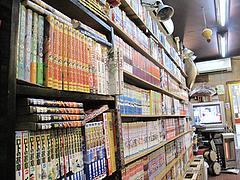 店内:漫画コーナー@ラーメンの店ふーとん(胡同)・春吉