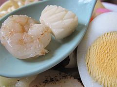 料理:海鮮チャンポンの海鮮@山ちゃん・ちゃんぽん
