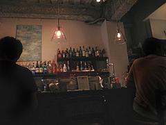 店内:カウンター@daitu(ダイツ)・カフェ&バー・春吉