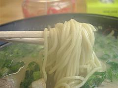 料理:ラーメン麺@ラーメン空間・はくざん・春日