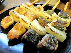 料理:ちそ巻き160円&焼鳥の何か@高田屋・焼鳥・倉敷