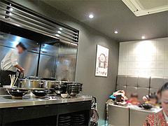 店内:オープンキッチン@峰松本家・博多デイトス・博多駅