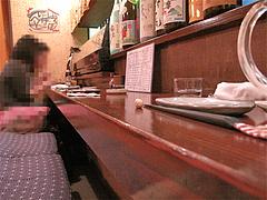店内:カウンター席@やきとり処・博多こっこ家・春吉