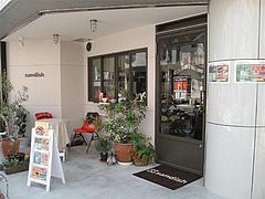 2外観@サンディッシュ・カフェ・美野島