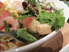 13夜カフェ:コブサラダの下層@Brooklyn Parlor HAKATA(ブルックリンパーラー博多)・博多リバレイン