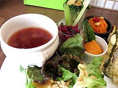 9ランチ:スープ・パン・サラダ@食堂シェモア・フレンチ・イタリアン・洋食