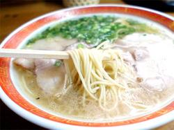 8ラーメン麺@一九ラーメン筑紫店