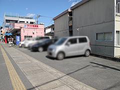 外観:専用駐車場@札幌ラーメンえぞっ子若久店