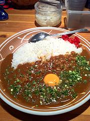 ランチ:ねぎ玉カレー680円@JB'S BAR(ジェービーズバー)・渡辺通