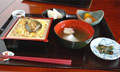 8鮎料理:鮎のかば焼き1,000円@旧川口邸・季節料理なごみ・八女市上陽町
