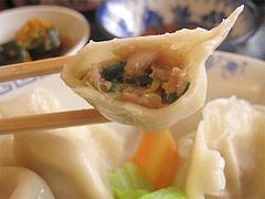 料理:水餃子断面@好吃餃子(ハオツーギョウザ)