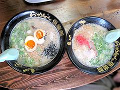 料理:らーめん500円と煮玉子らーめん650円@らーめんず倶楽部げんき