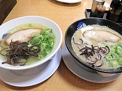 料理:いけ麺と白ラーメン@いけ麺・馬出