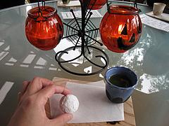 料理:お茶とクッキー@カフェ・レーブ・ド・べべ・小郡