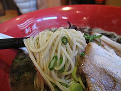 10ラーメンランチ:ラーメン・マー油入り麺@博多新風・高宮本店