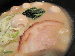 7豚骨ラーメンスープ@海豚や西新