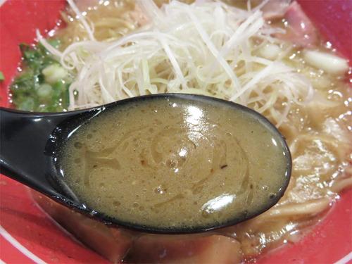 11チャーシュー鶏魚介ラーメン汁