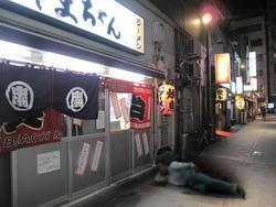2外観@長浜屋台やまちゃん中洲店