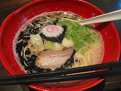 ランチ:醤油とんこつ麺680円@ラーメン・博多五行・今泉