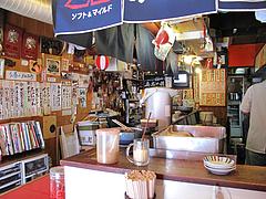 店内:カウンター席@まめたぬき・大楠