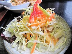 料理:サラダ@ラーメンつる家・那珂川