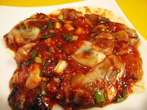 10牡蠣のキムチ1@チェおばさんのキムチ