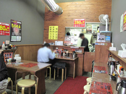 2店内@烏骨鶏ラーメン麹屋