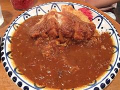 料理:カツカレー780円@文化屋カレー店・博多区住吉