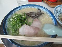 料理:ラーメン480円@博多ラーメンしばらく平和台店