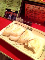 8料理:モチモチぎょうざプラス@博多っ子純情屋台・喜柳