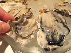 料理:牡蠣食べ放題のかきの大きさ@オイスターバー・キャナルシティ博多・福岡