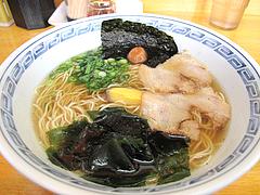 料理:玄海博多塩らーめん500円@こじま亭・大橋