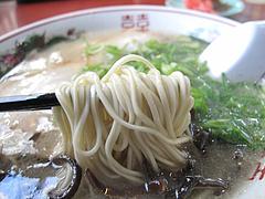 8ランチ:博多豚骨ラーメン麺@ラーメン博多荘・中州