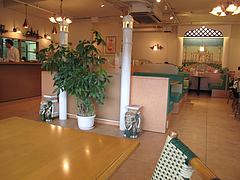 店内:テーブル@インドレストラン・タージ・大橋