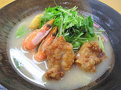 6大阿蘇の塩麹唐揚げと県産野菜の太平燕(タイピーエン)@SAPA麺王決定線2012